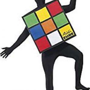 Déguisement Adulte Rubik's Cube, Multicolore