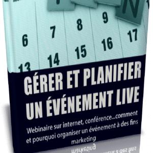 Gérer et planifier un événement live