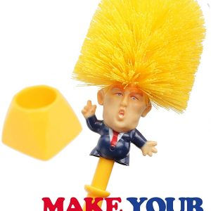 Donald Trump, Brosse WC, Brosse à toilettes, article de farces