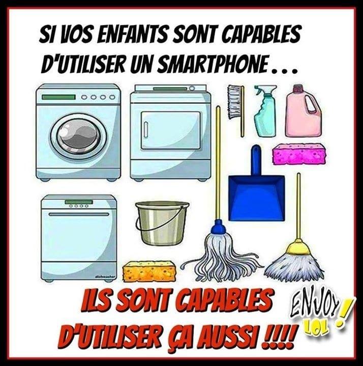 Si vos enfants sont capables d'utiliser un smartphone...