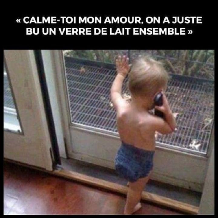 Calme-toi mon amour