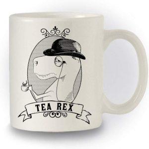Dinosaure Humour Inspire Tasse avec inscription humoristique en anglais Tea Rex