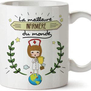 Mug Infirmière Tasses Originales de café et Petit-déjeuner