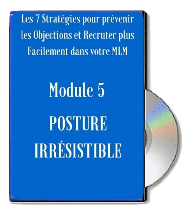 Module 5 - Posture Irrésistible