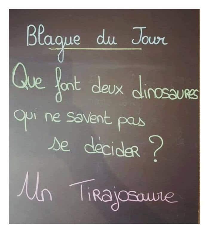 Que font deux dinosaures qui ne savent pas décider