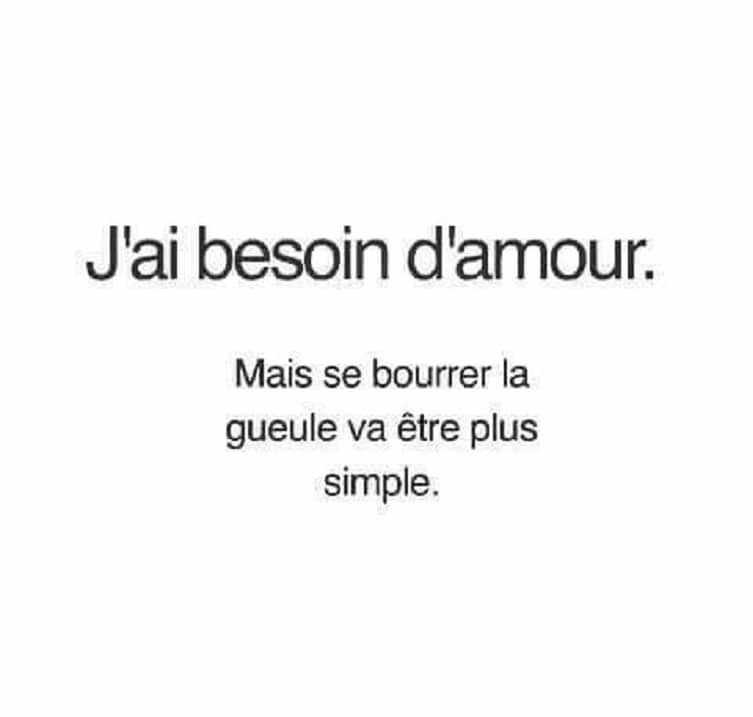 J'ai besoin d'amour
