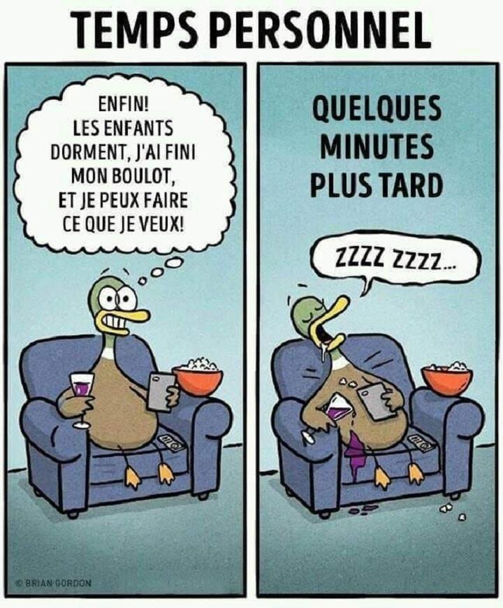 Temps personnel