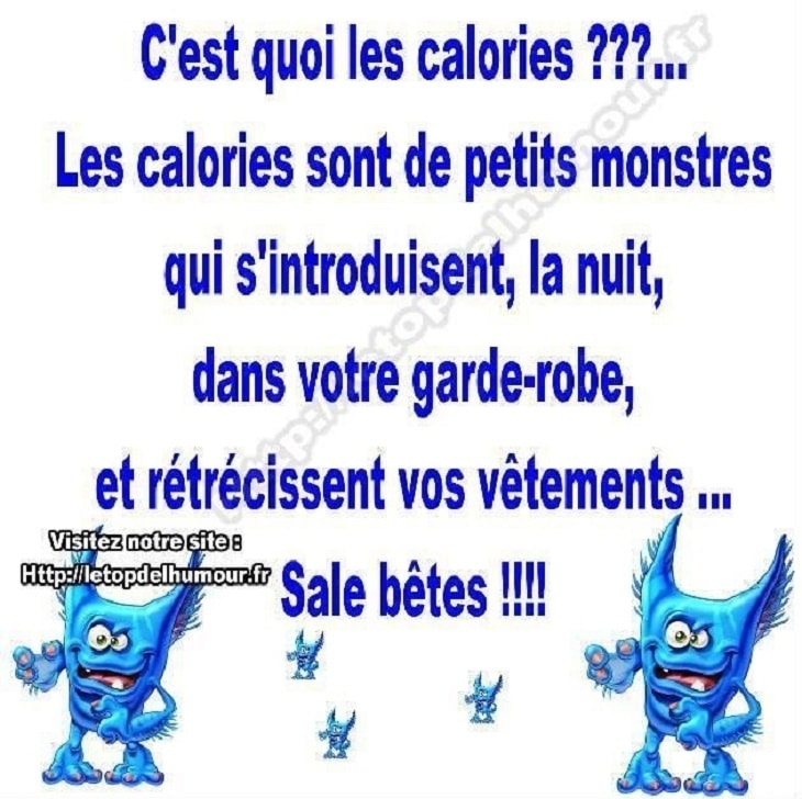 C'est quoi les calories ?