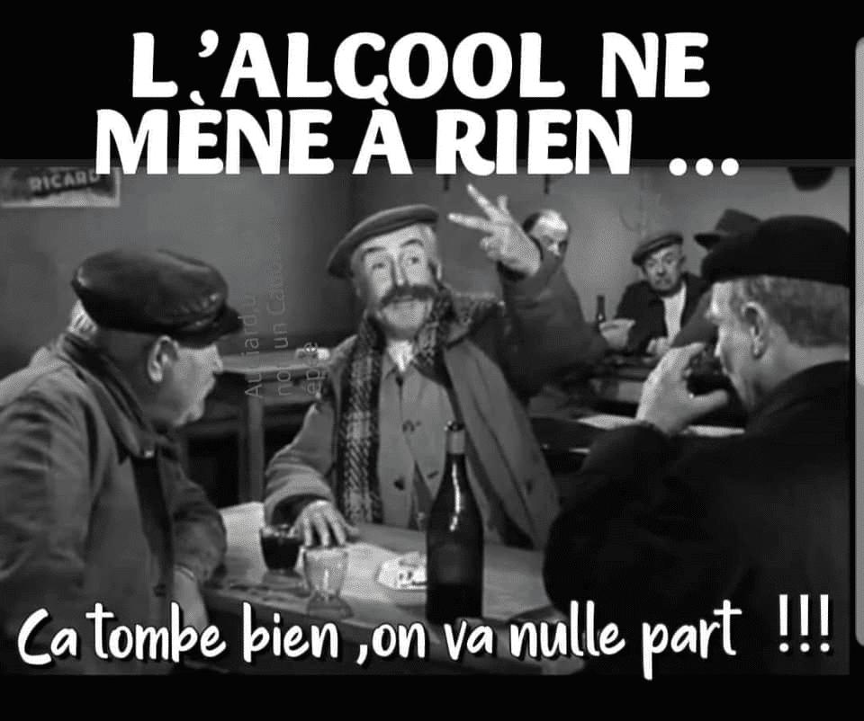 L'alcool ne mène à rien...