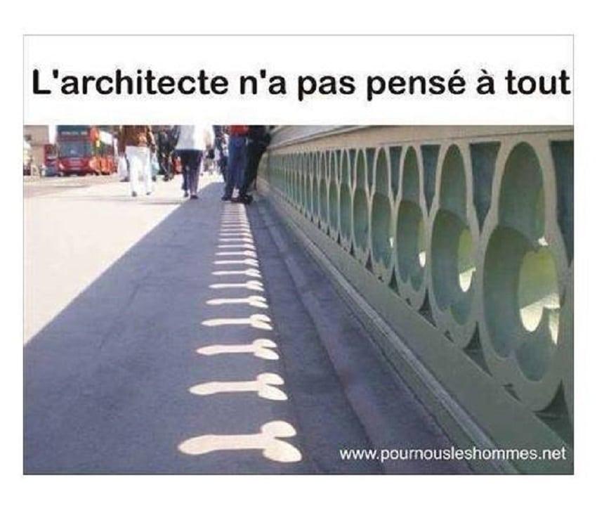 L'architecte n'a pas pensé à tout