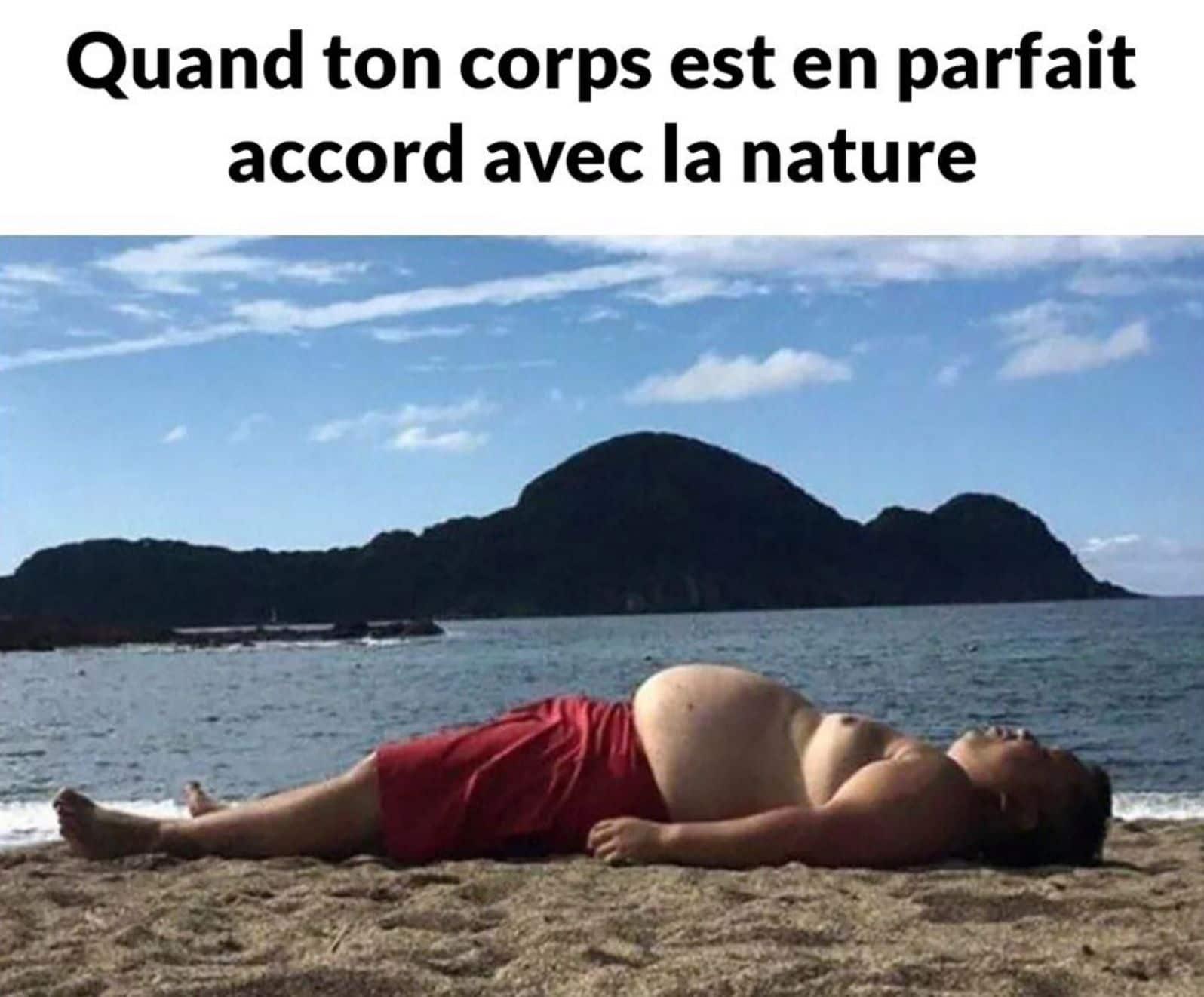 Quand ton corps est en parfait accord avec la nature