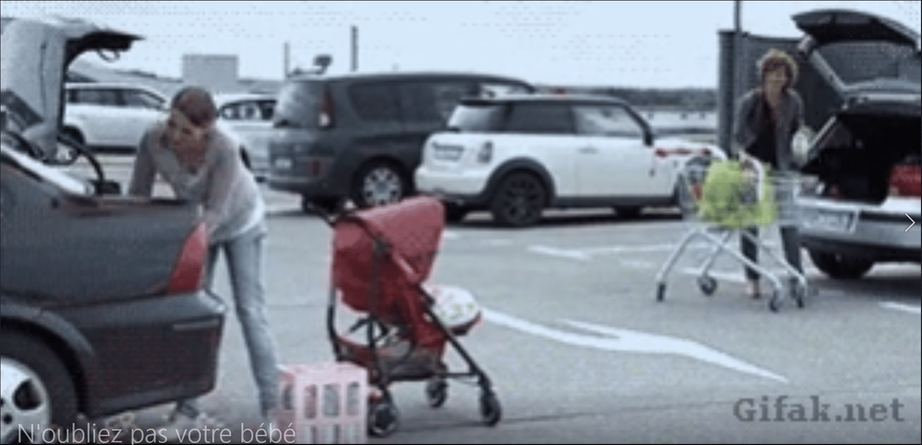 N'oubliez pas votre bébé