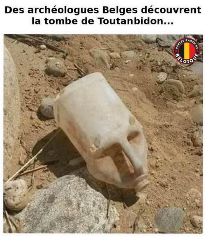 Des archéologues Belges découvrent la tombe de Toutanbidon...