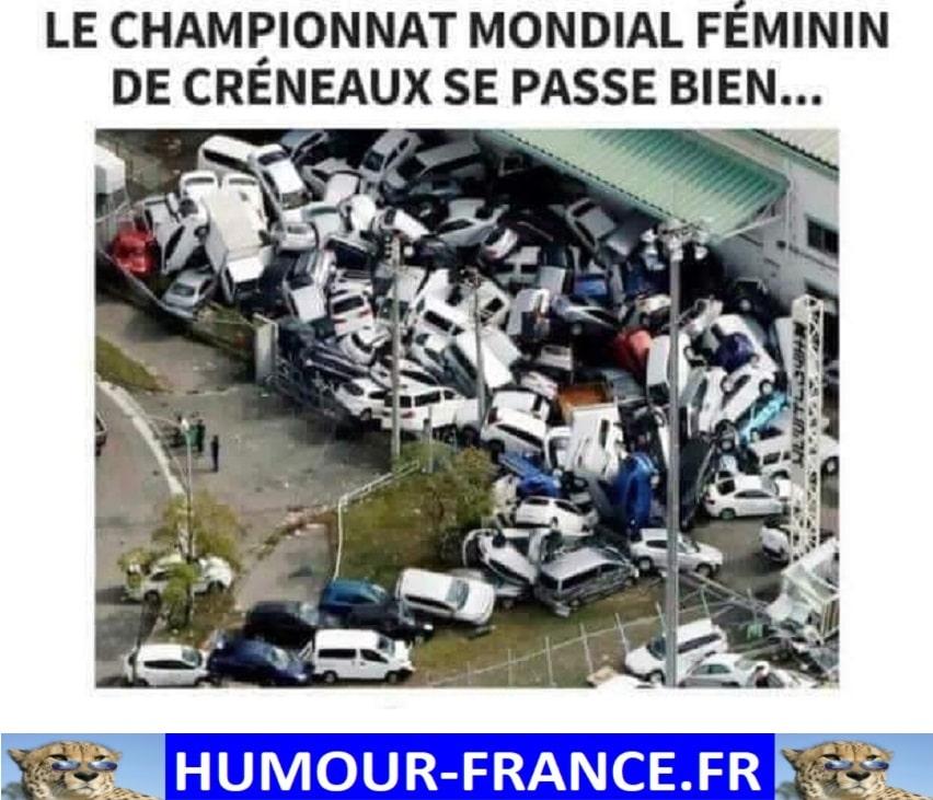 Le championnat mondial féminin de créneau se passe bien
