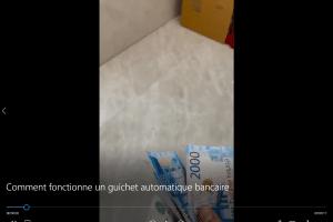 Comment fonctionne un guichet automatique bancaire